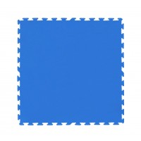 TATAME AZUL 1mX1mX10mm - LISO